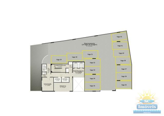 8. 1º piso garagem