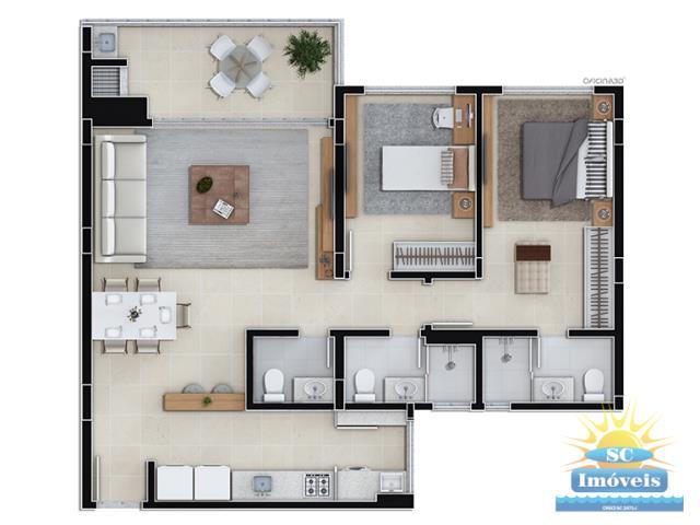 Apartamento Código 13298 a Venda no bairro Jurerê na cidade de Florianópolis