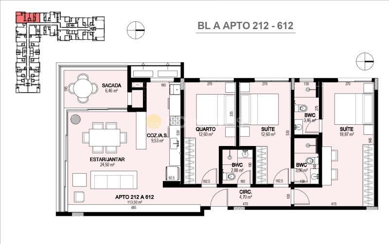 Apartamento Código 14862 a Venda no bairro Jurerê Internacional na cidade de Florianópolis
