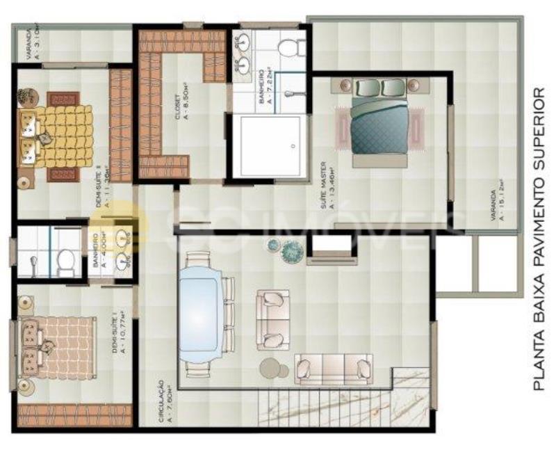 10. planta piso superior