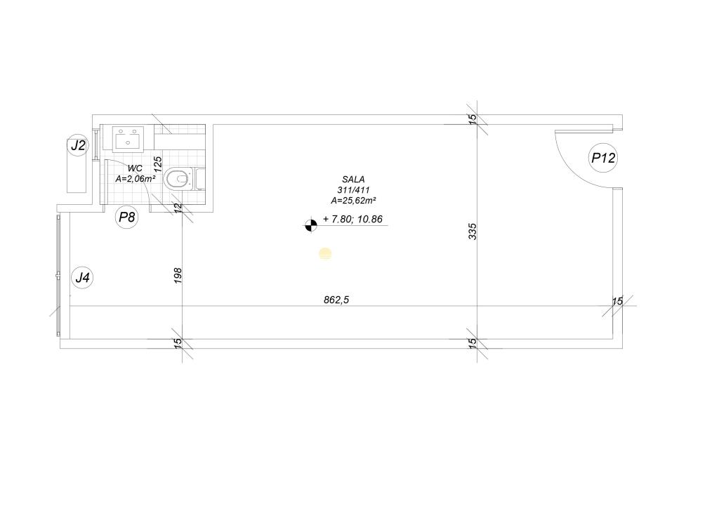 Sala Código 15664 para alugar no bairro Ingleses na cidade de Florianópolis