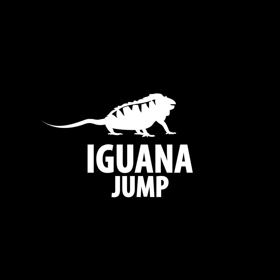 Boné preto aba curva - Bordado branco - Iguana Jump 4ad3d4754bf20