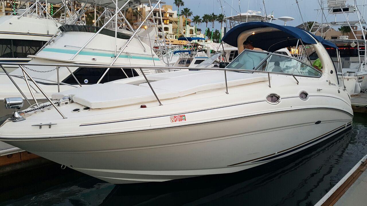 30' Searay, Cabo Boat Rental, luxury Yacht Los Cabos