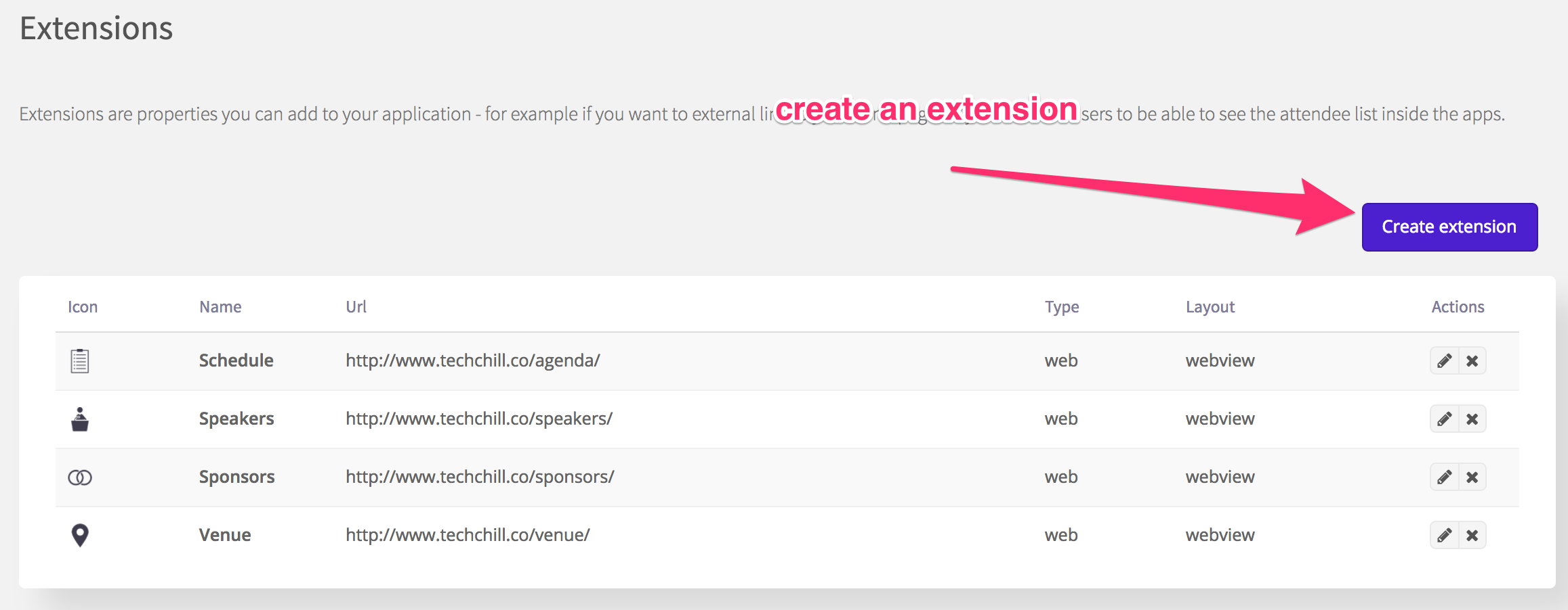 Create an extension 2