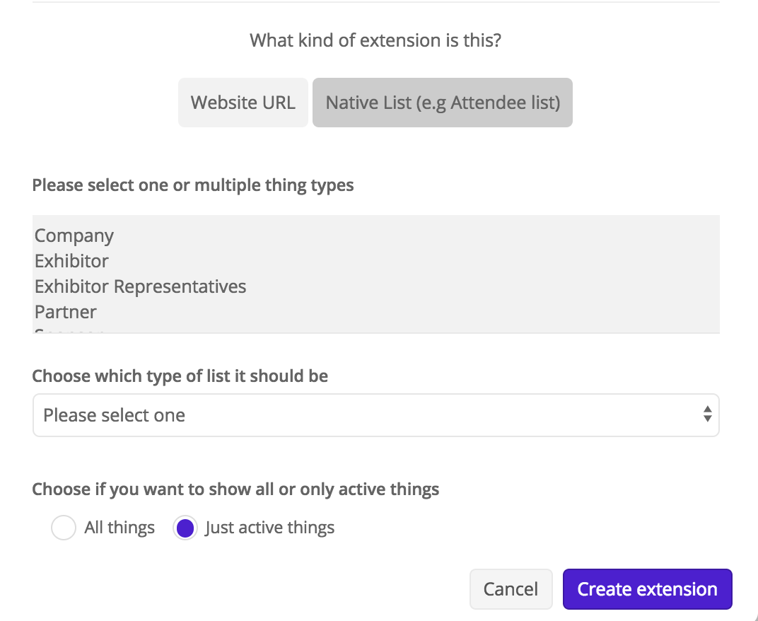 Create an extension 5