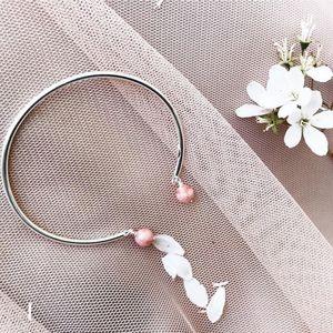 Aglaiaco jonc bijou collection elegance eternelle fleur