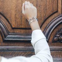 Aglaiaco bijoux argent pierre france ethique bracelet pierre hematite