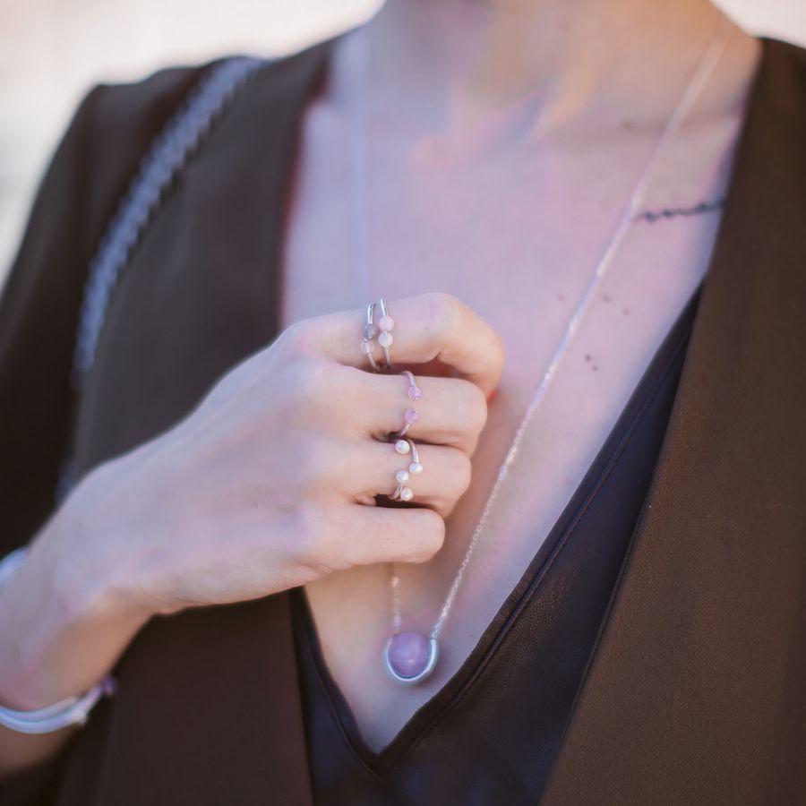 Aglaiaco natachabirds bijoux elegance amehyste sautoir bague jonc %283%29