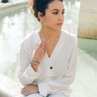 Aglaiaco bijoux argent pierre france ethique sautoir onyx boucles perle