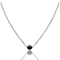 Aglaia bijoux argent pierre collier onyx elegance eternelle 1