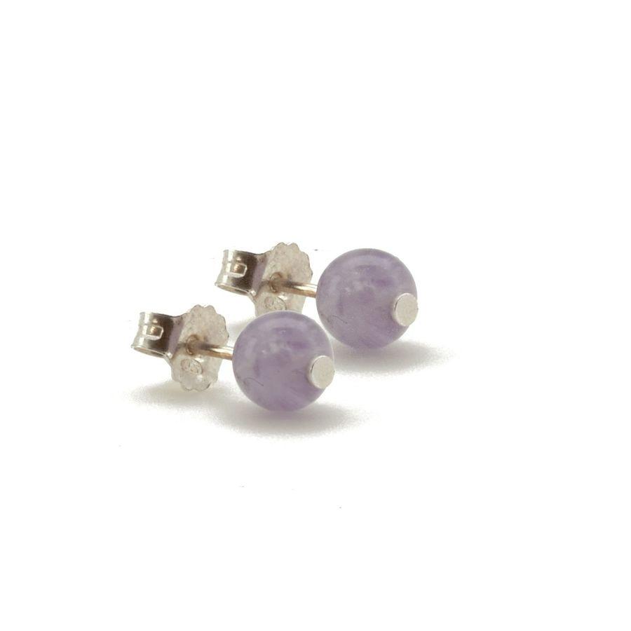 Aglaia bijoux argent pierre bo puce amethyste lavande elegance eternelle 1