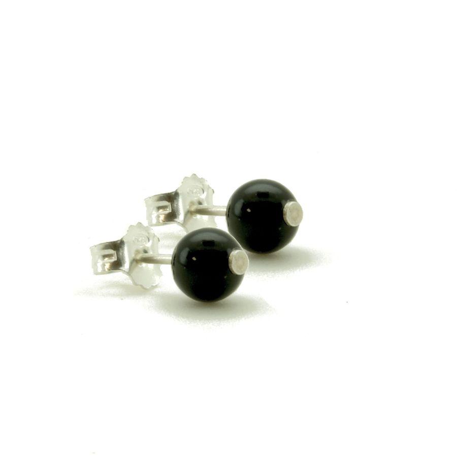Aglaia bijoux argent pierre bo puce onyx elegance eternelle 1