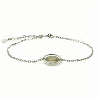 Aglaia bijoux argent pierre bracelet anneau quartz fume me 1