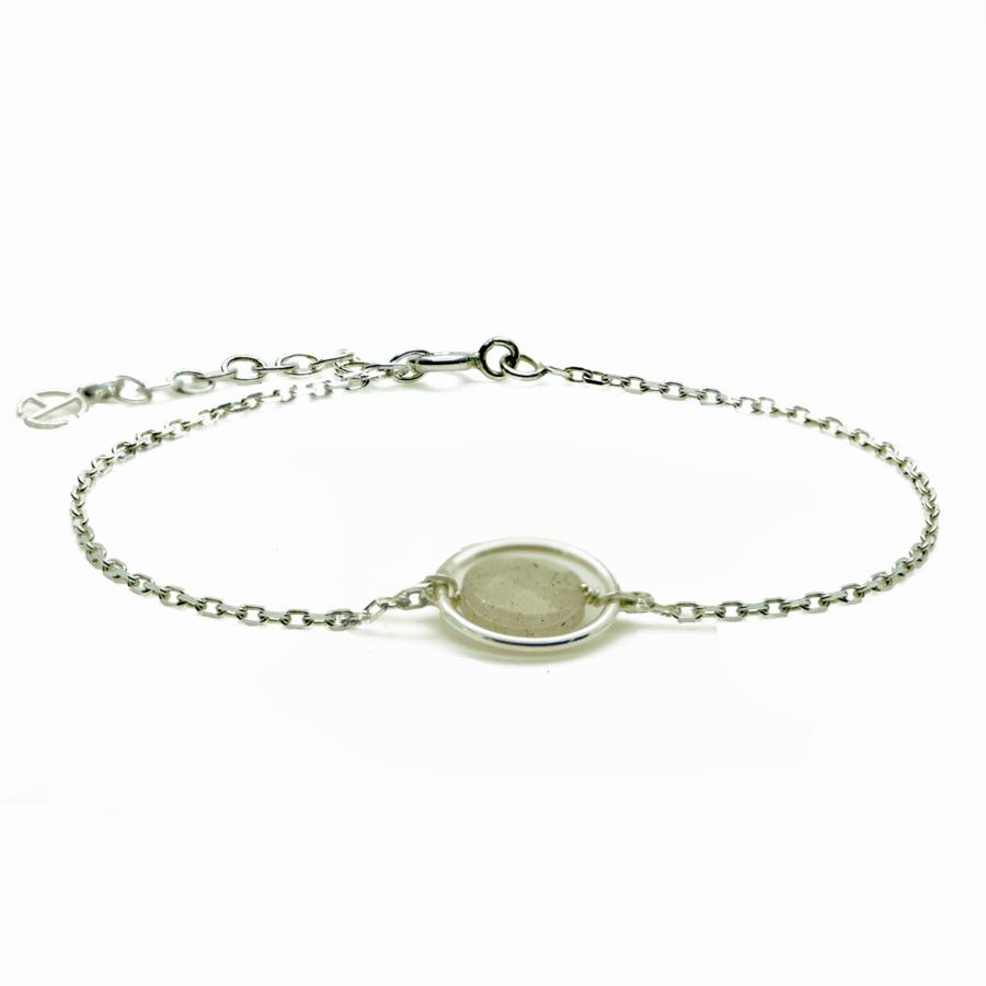 Aglaia bijoux argent pierre bracelet anneau labradorite me 1