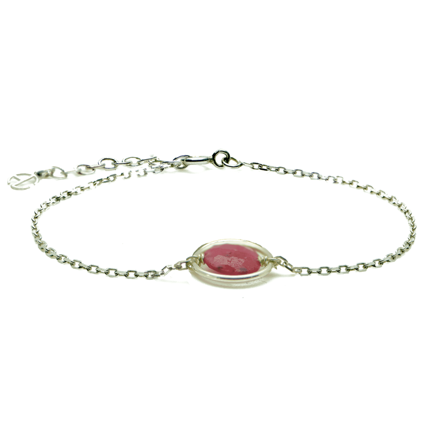 Aglaia bijoux argent pierre bracelet anneau rubis me 1
