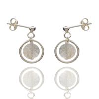 Aglaia bijoux argent pierre boucles oreilles puce labradorite o 1