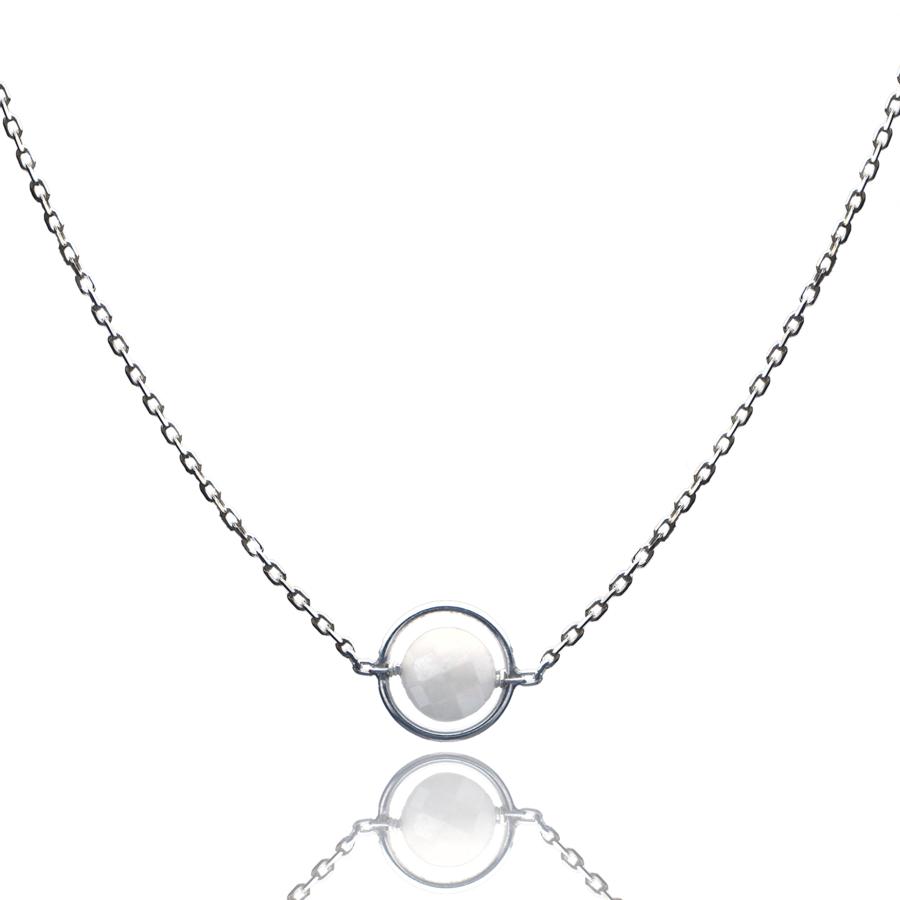 Aglaia bijoux argent pierre collier anneau silverite o 1