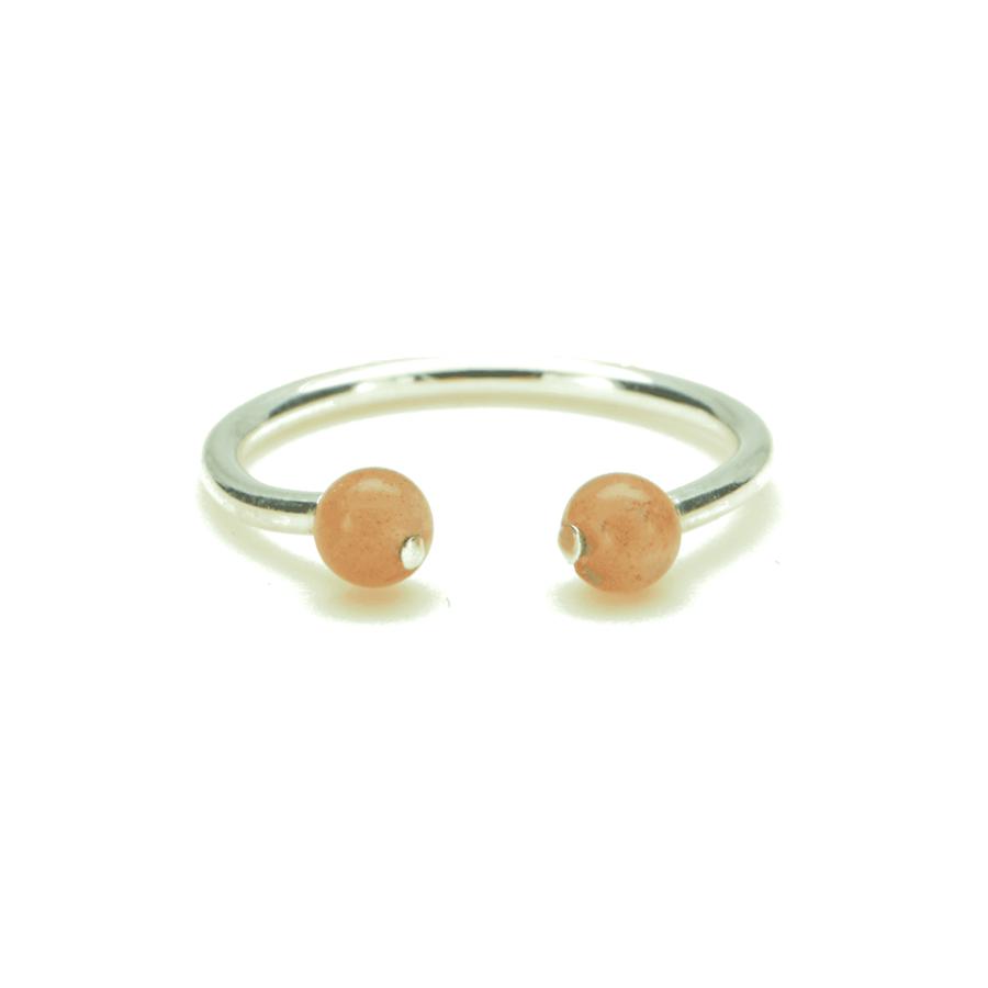 Aglaia bijoux argent pierre bague pierre soleil elegance eternelle 1