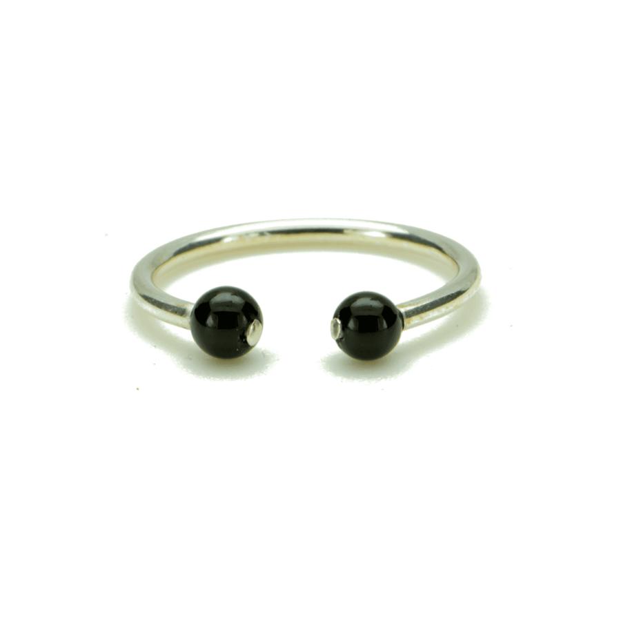 Aglaia bijoux argent pierre bague onyx elegance eternelle 1