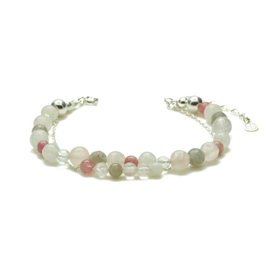 Aglaia bijoux argent pierre naturelle bracelet georgia secrets 1