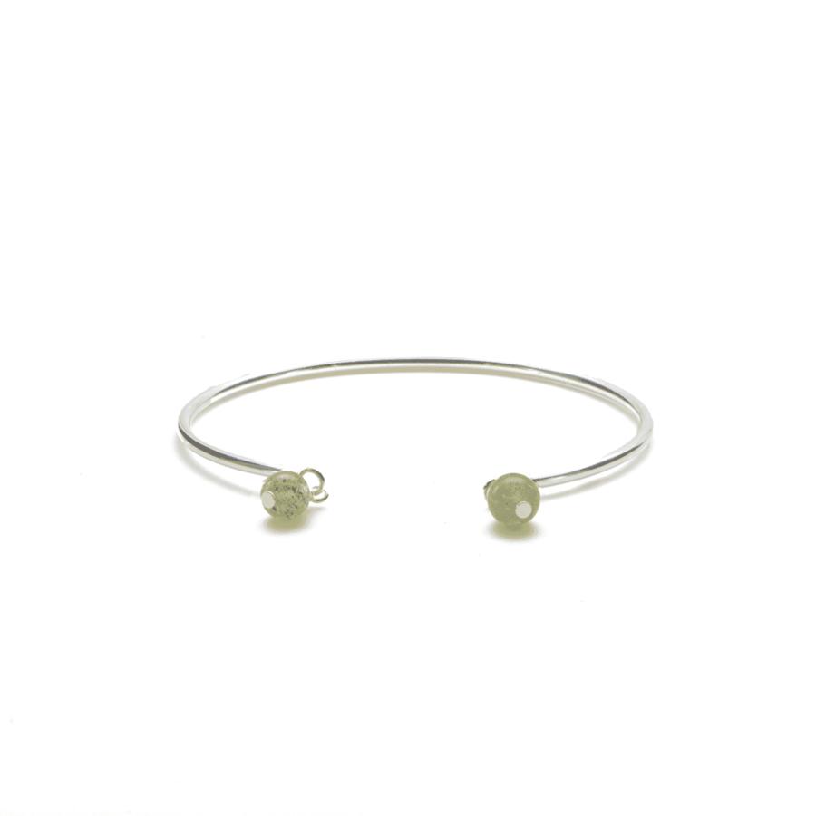 Aglaia bijoux argent pierre bracelet jonc labradorite elegance eternelle 1
