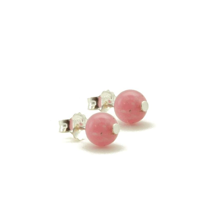 Aglaia bijoux argent pierre bo puce rhodocrosite elegance eternelle 1