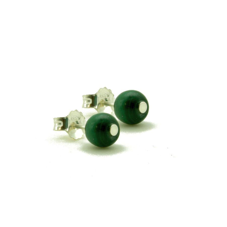 Aglaia bijoux argent pierre bo puce malachite elegance eternelle 1