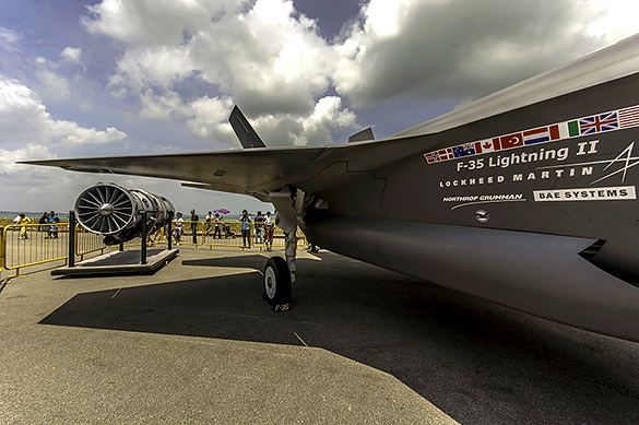 BAE and Lockheed-Martin have decades of F-35 business ahead of them.