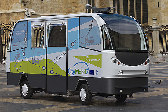 Automatic Road Transport System - Driverless Vehicle