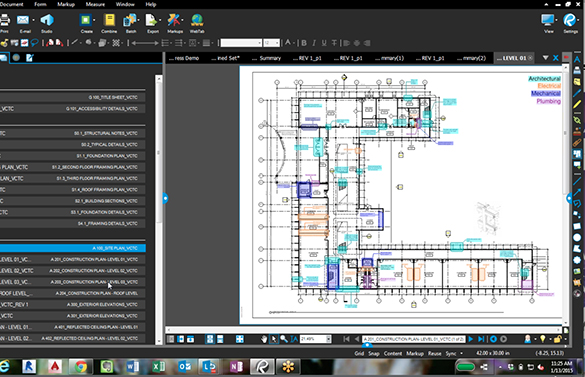 Construction PDF Software Bluebeam Revu 2015 Released