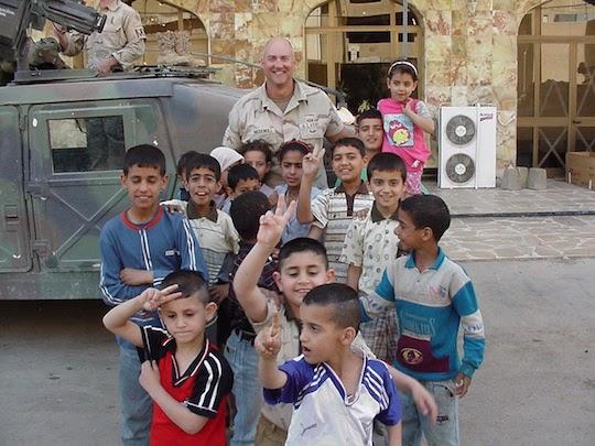 Kevin Massengill in Baghdad
