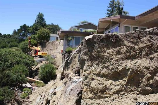 Home Near Landslide