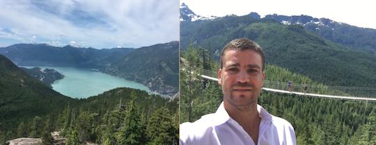 Zach Scheidt in Vancouver