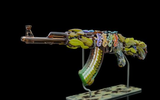 pot gun art