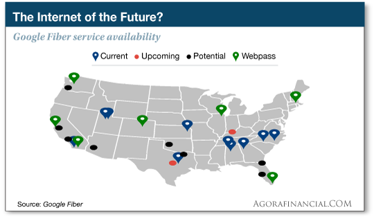 google fiber availability map