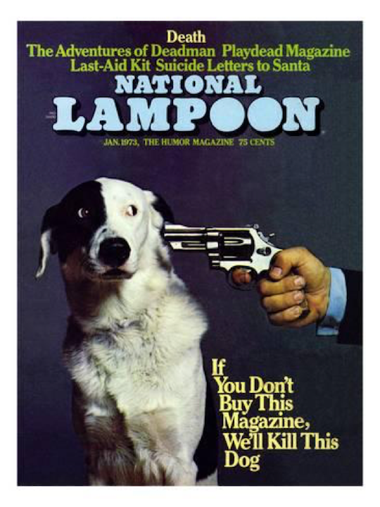 National Lampoons magazine cover