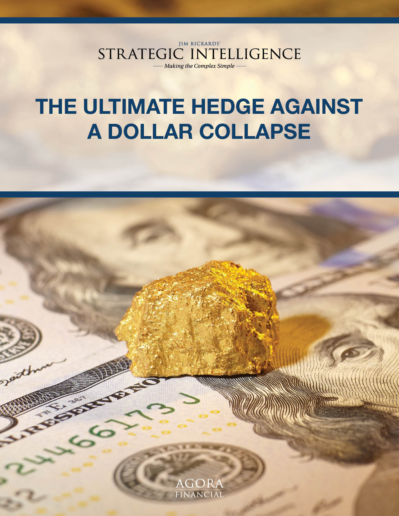 The Ultimate Hedge Against a Dollar Collapse - Agora Financial