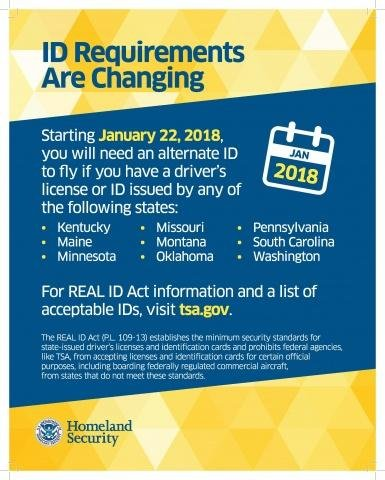 ID Requirements are Changing