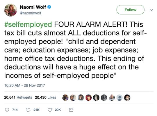 Naomi Wolf Tweet
