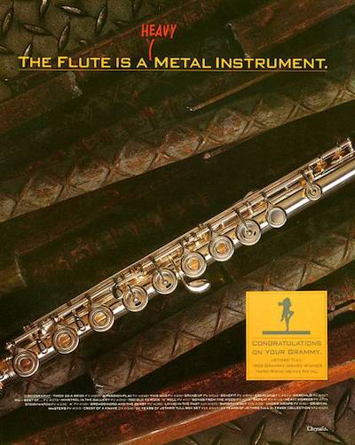 The Flute is a Heavy Metal Instrument