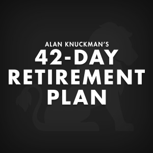 Alan Knockman's 42-Day Retirement Plan