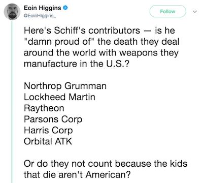 Eoin Higgins Tweet