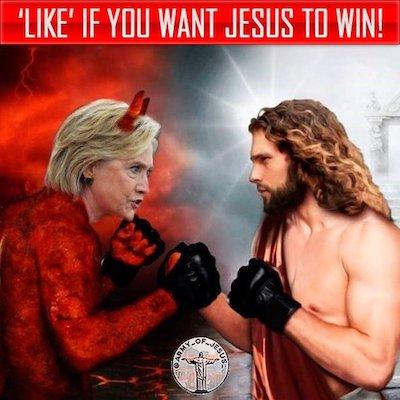 Jesus vs Hillary