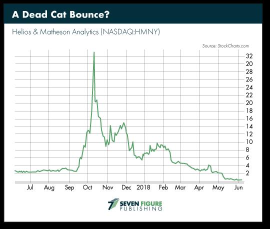 A Dead Cat Bounce?