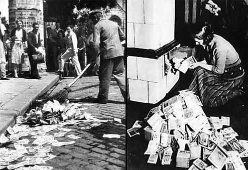 Weimar Republic hyperinflation