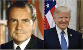 Nixon and Trump