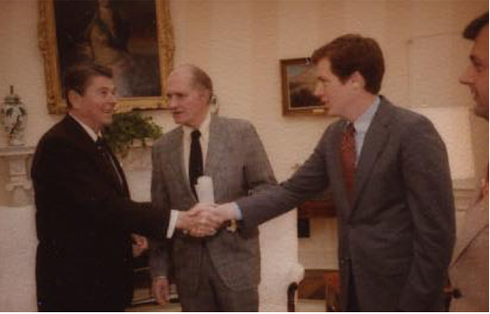 Lighthizer and Reagan