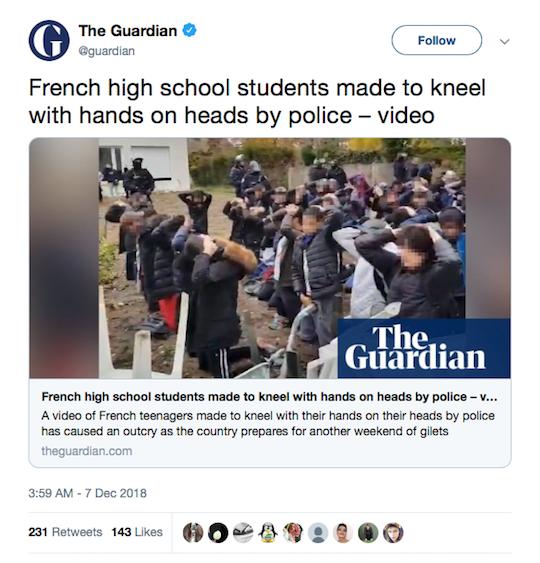The Guardian Tweet
