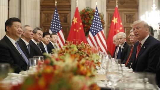 Xi Jinping and Donald Trump