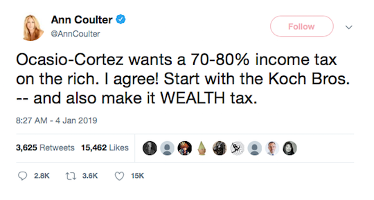 Ann Coulter Tweet